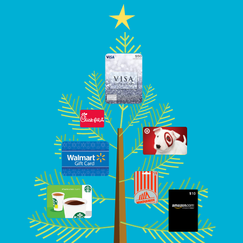 Join the Gift Card Tree Challenge this Holiday Season